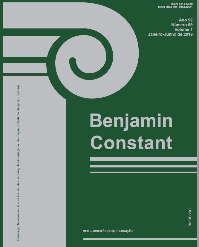 Capa da Edição 59, volume 1, 2016